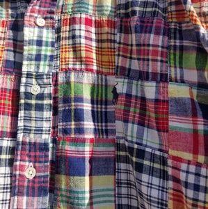 Ralph Lauren Shirts - Vintage ralph lauren patchwork shirt